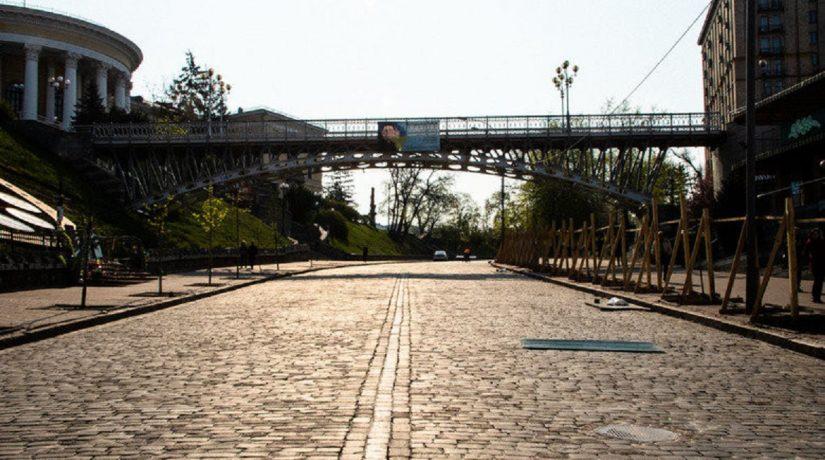 мост, Аллея Героев Небесной сотни