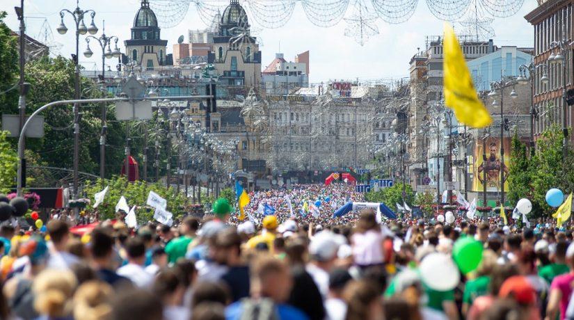 Благотворительный Пробег под каштанами собрал рекордные 18 тысяч участников