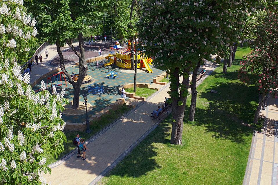 Владимирская горка, парк