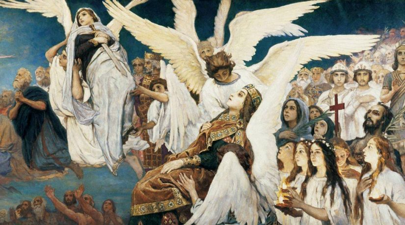 Эскиз росписи Владимирского собора в Киеве – Васнецов