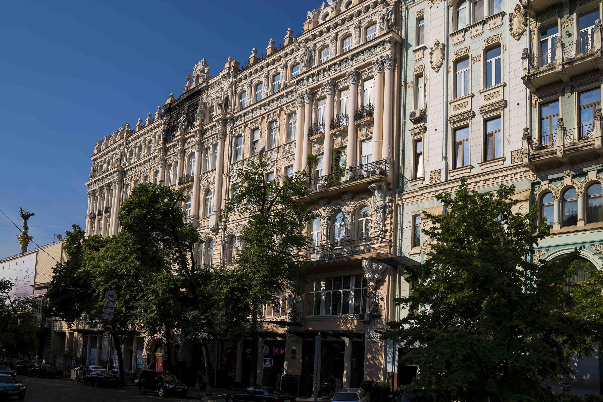 Улица Городецкого