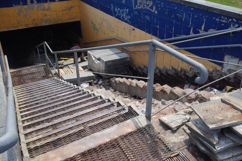 подземный переход, ремонт
