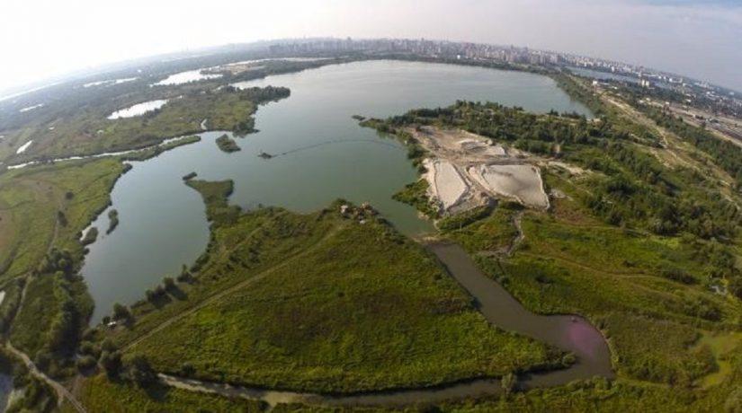 В Киеве планируют создать ландшафтный заказник «Озеро Тягле»