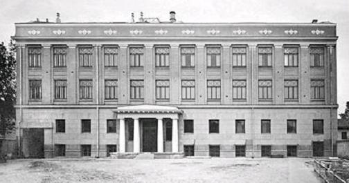 Гимназия А. В. Жекулиной на ул. Львовской, сейчас Сечевых Стрельцов, 27