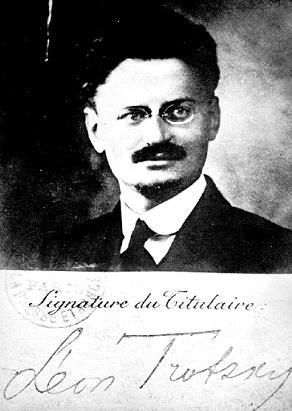 Французский паспорт Л. Д. Троцкого