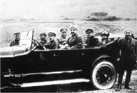 Автомобиль поезда Троцкого