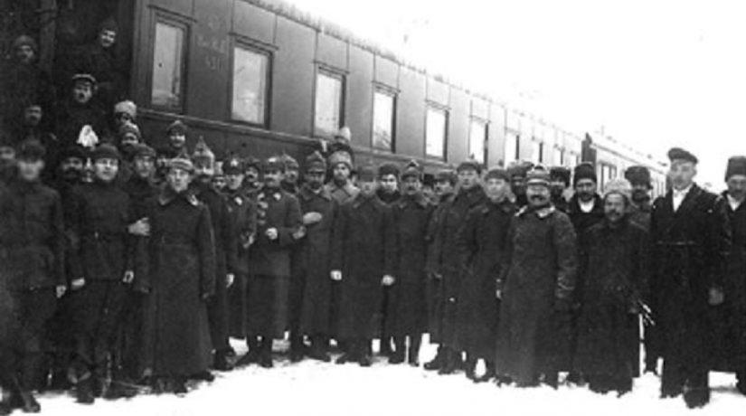 Команда поезда Троцкого