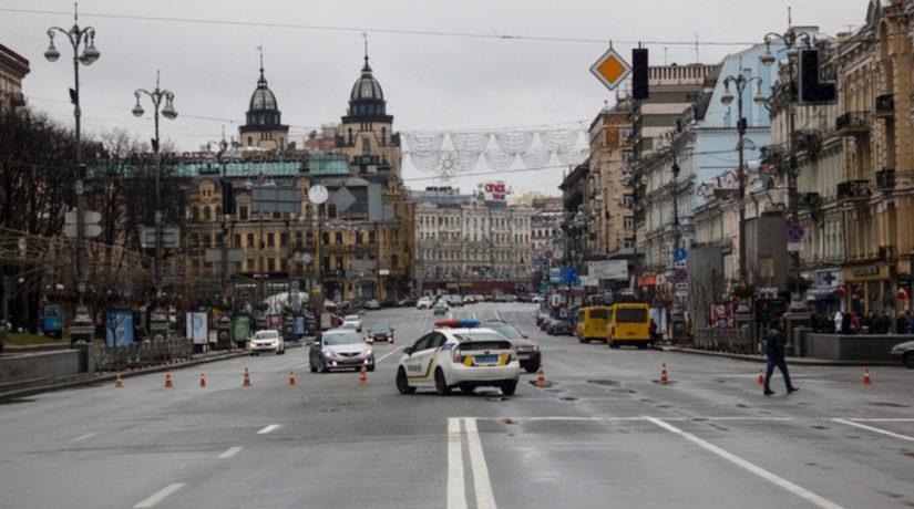 В Киеве возможны ограничения движения транспорта из-за визита Генсека НАТО