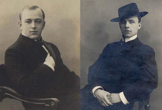Они выступали на киевском Первомае в 1919-м: Л. В. Собинов, М. М. Мордкин
