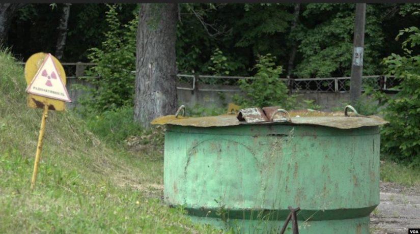 Под Киевом американцы помогают вывозить радиоактивные отходы