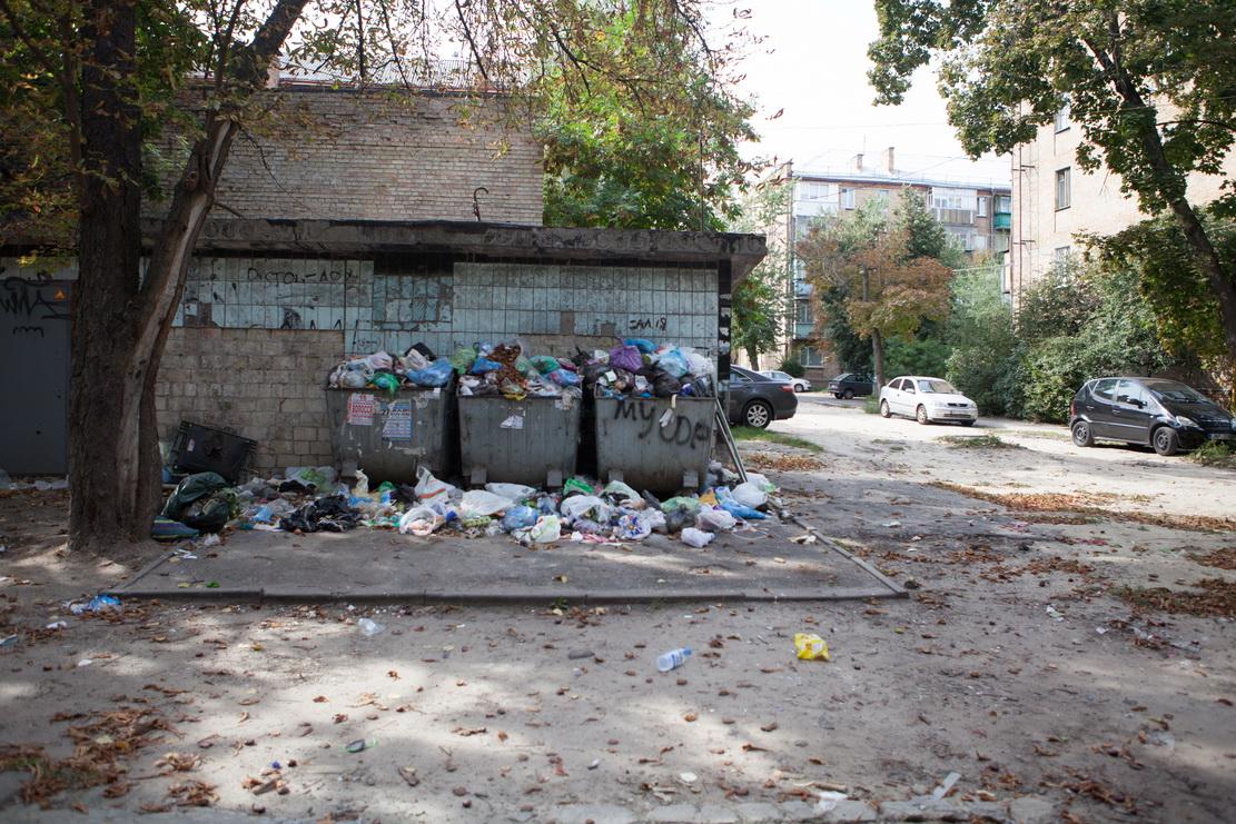 мусор, баки