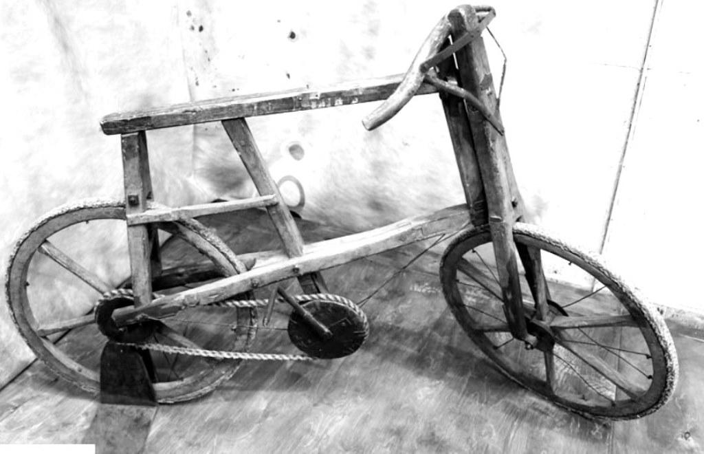 Велосипед кустарного производства