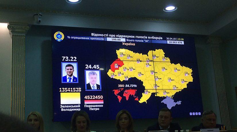 В «Голосе Украины» опубликовали официальные результаты президентских выборов