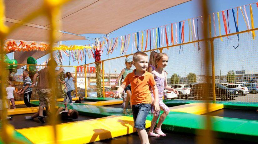 1 июня откроется батутный городок Summer Park