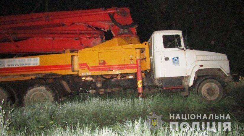 В Киевской области мужчина вместо невыплаченной зарплаты угнал грузовик