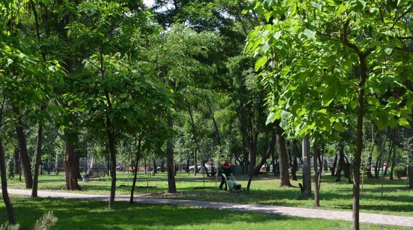 На улице Винницкой завершен капитальный ремонт парка