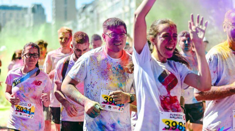 В Киеве состоится красочный Kyiv Color Run
