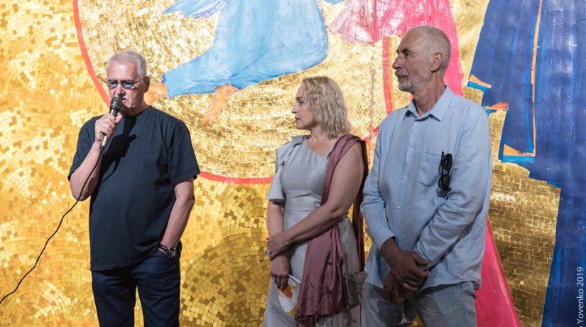 Криволап, Ступаченко, выставка, роспись