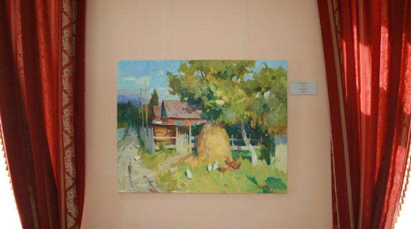 В Музее современного искусства открылась выставка картин «Летний дневник»