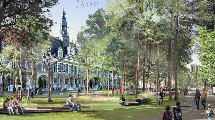 Проект обустройства леса в Париже