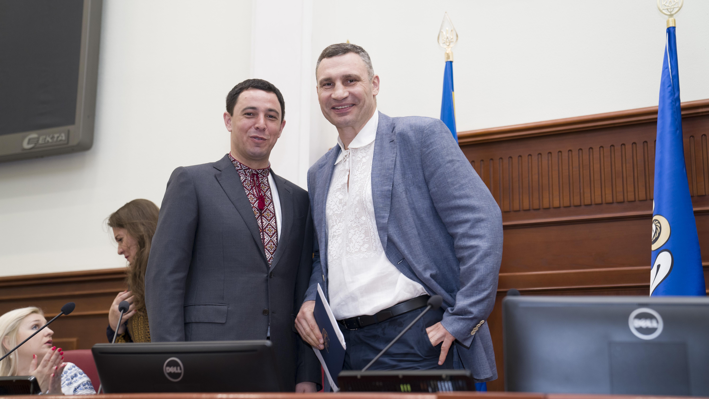 Кличко, Прокопив, Киеврада