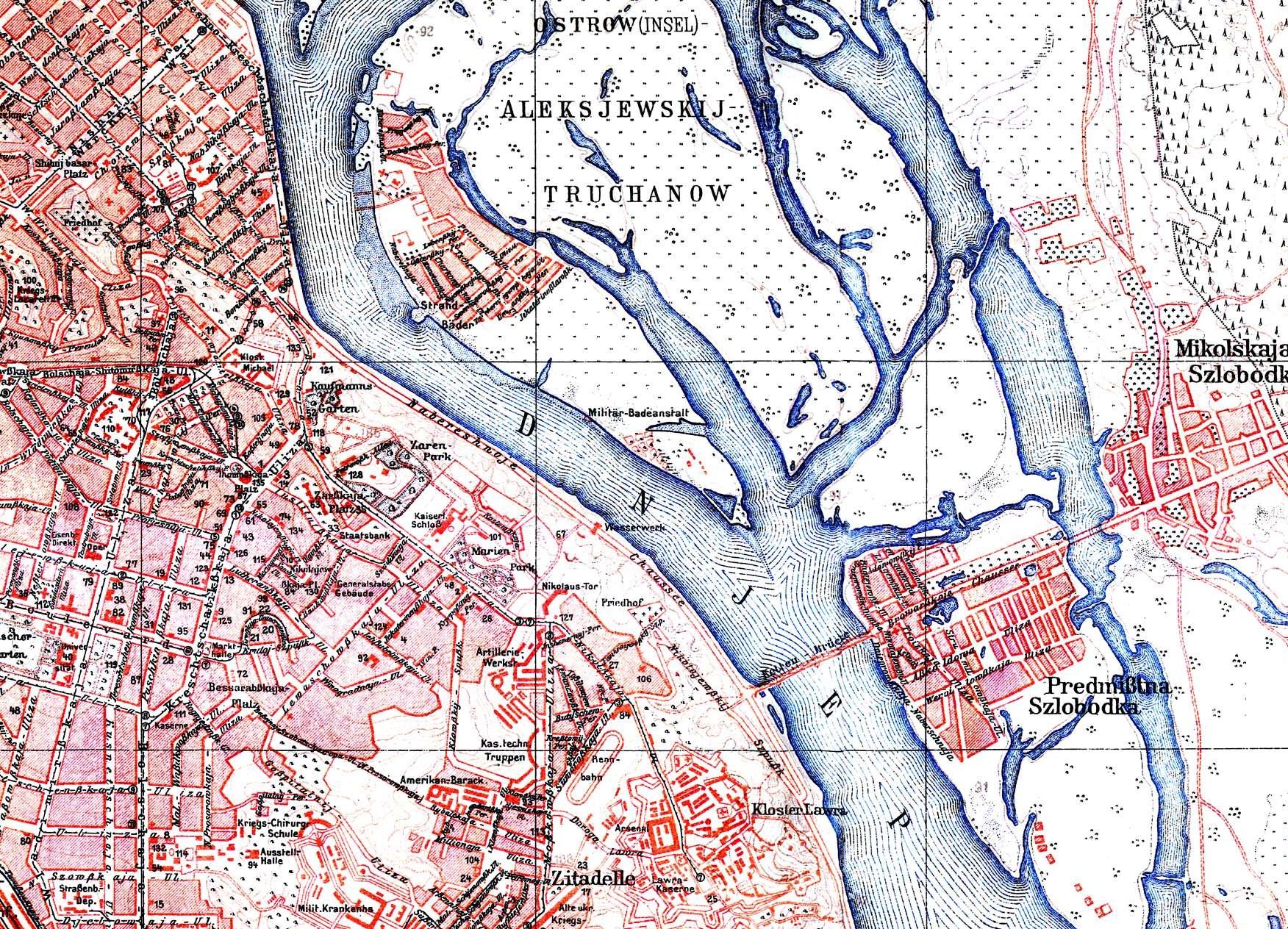 Поселки на островах на довоенных немецких картах: 1918 год…