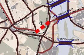 Схема тоннеля под ботсадом