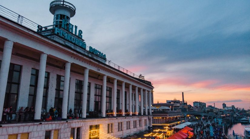 В здании Речного вокзала открывается новая выставка современного искусства