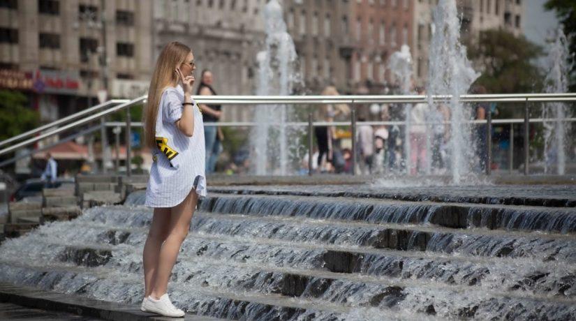 Середина июня в Киеве началась с температурных рекордов