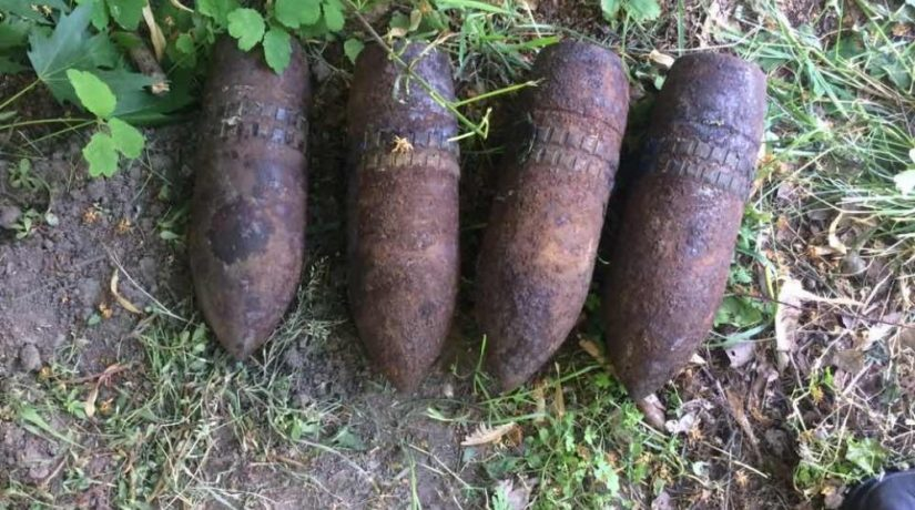 В Бориспольском районе возле детского сада обнаружили снаряды