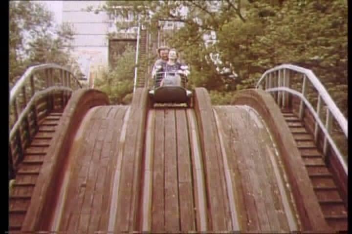 Американские горки в Гидропарке просуществовали до 1990-х годов
