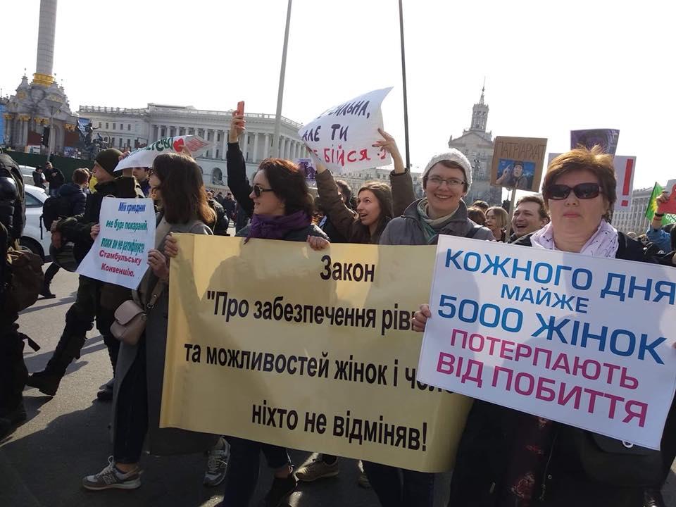 борьба за права женщин