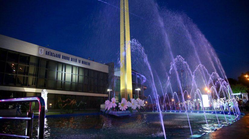Комплекс фонтанов «Зори и Созвездия» заработал впервые за 40 лет