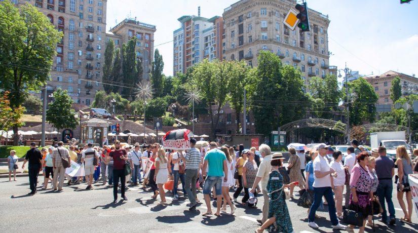 Городская власть поможет обманутым вкладчикам Войцеховского