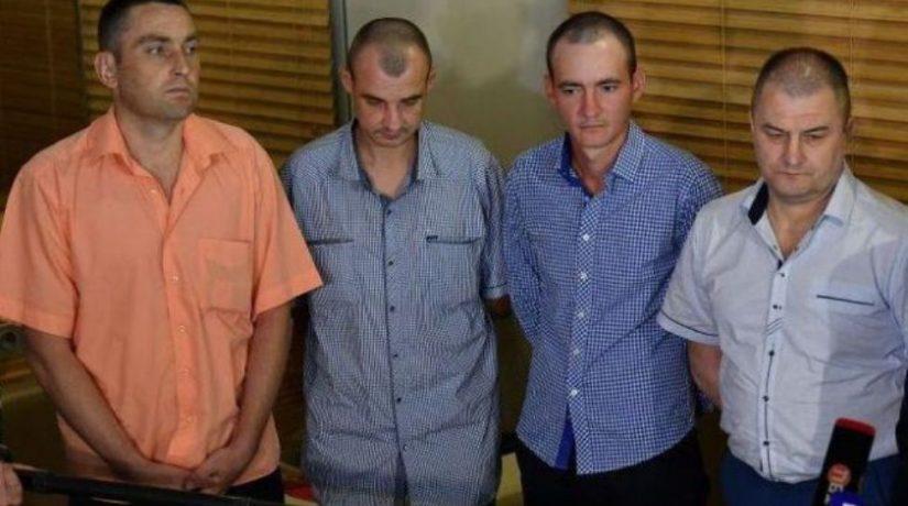 В Киев прибыли четверо украинцев, освобожденных из плена