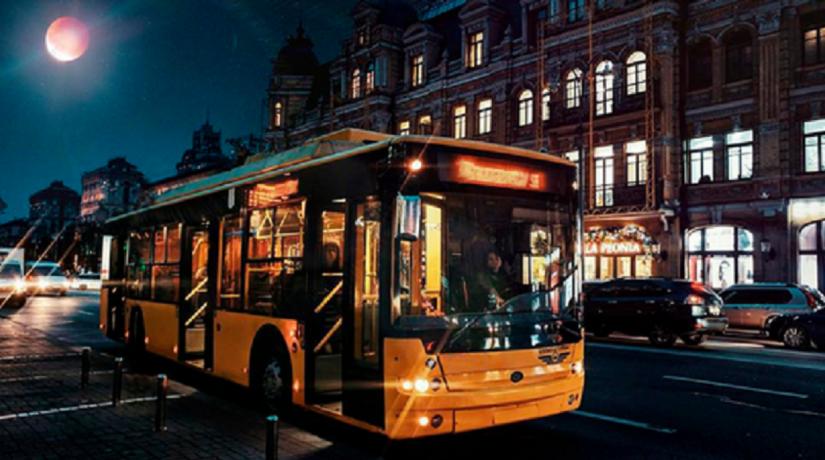 Ночной троллейбус № 91н изменит маршрут