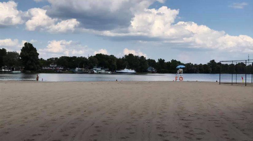 пляж, Галерный