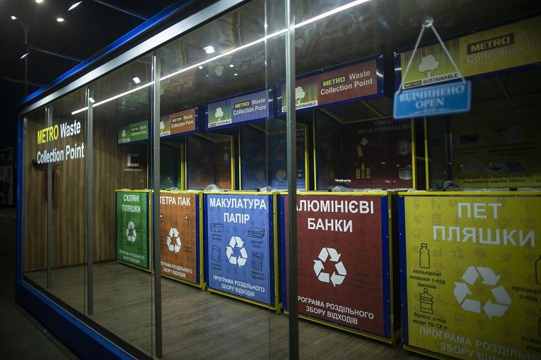 пункт сортировки мусора