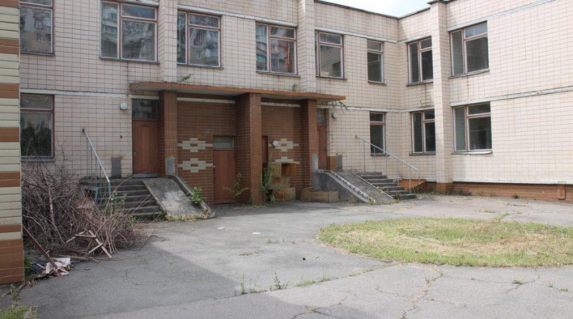На Троещине реконструируют детсад, чье здание использовали не по назначению