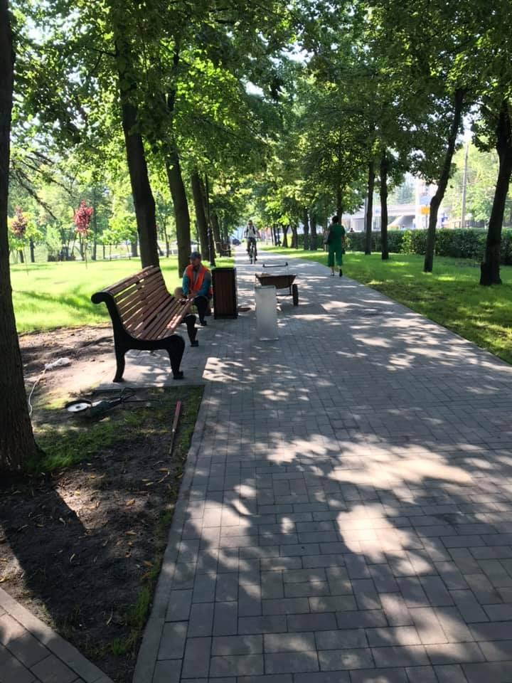 Куреневский парк, реконструкция