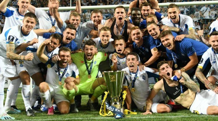 «Динамо» завоевало Суперкубок Украины, обыграв «Шахтер»