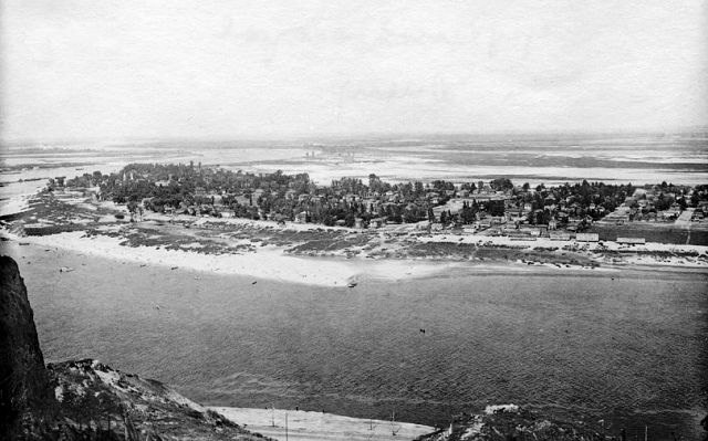 Вид на Труханов остров
