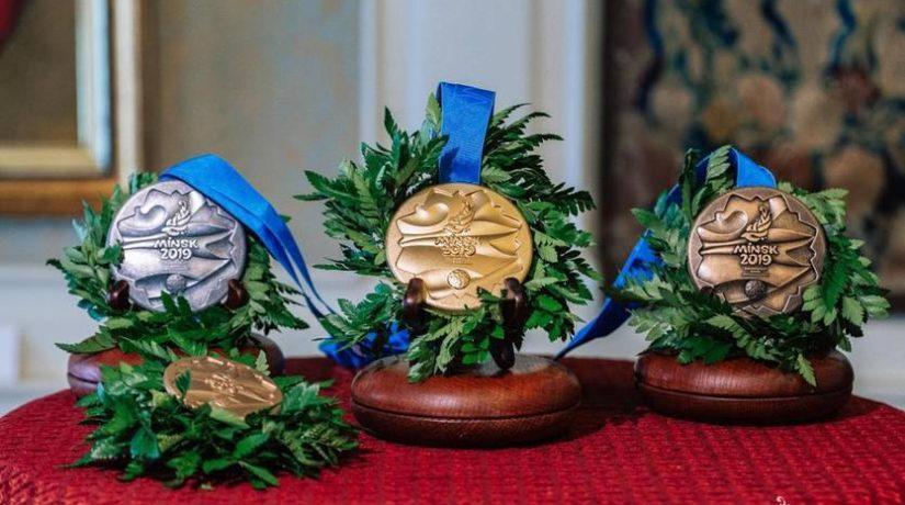 Сборная Украины заняла третье место в медальном зачете Европейских игр-2019