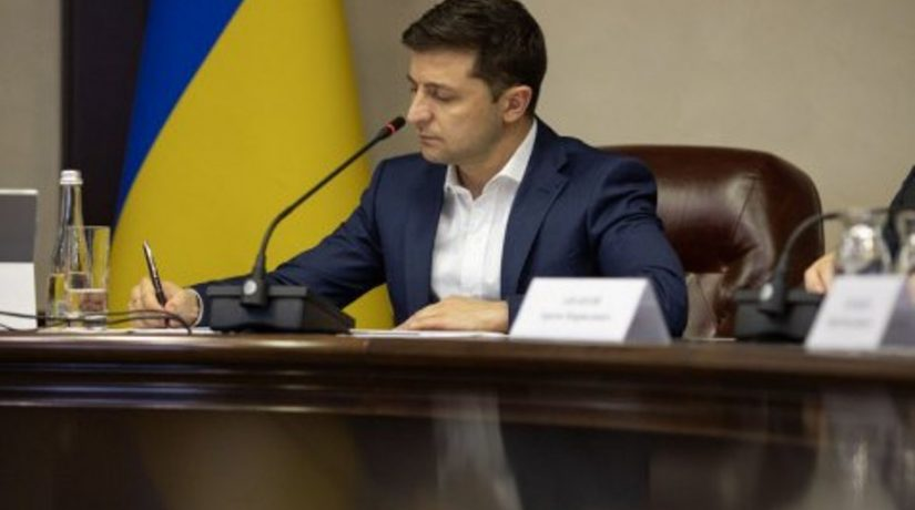 Зеленский уволил председателей трех районных администраций Киева