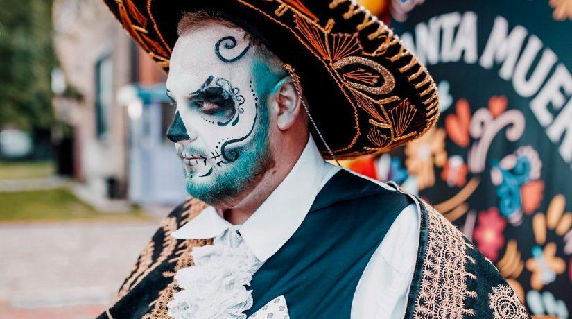 На арт-заводе «Платформа» пройдет ночной карнавал Santa Muerte