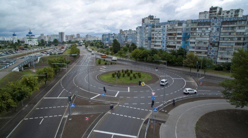 На пересечении улиц Бальзака и Каштановой реконструировали развязку