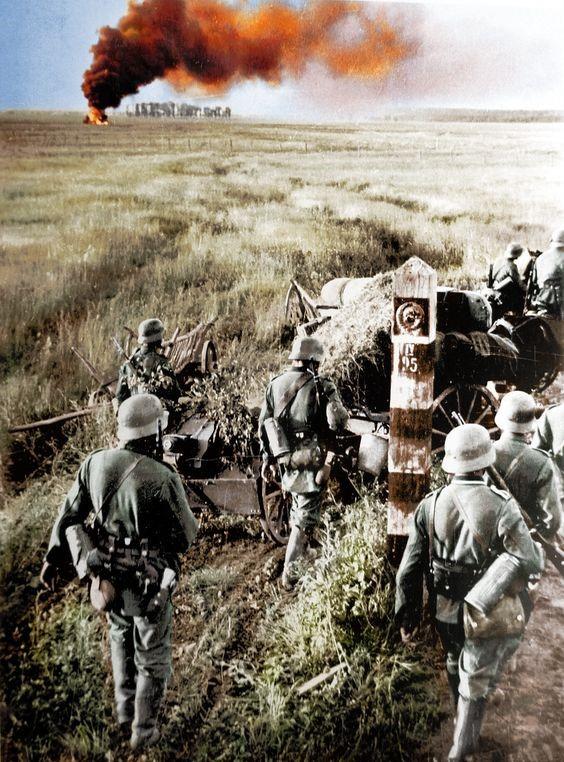 солдаты, Вторая мировая война