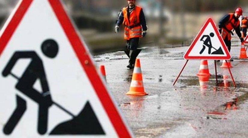 ремонт дороги, объезд