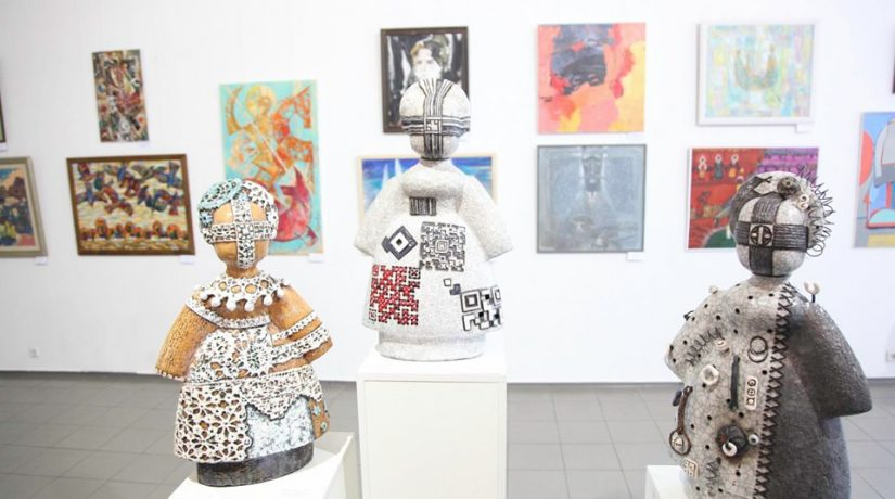 всеукраинская художественная выставка, день независимости