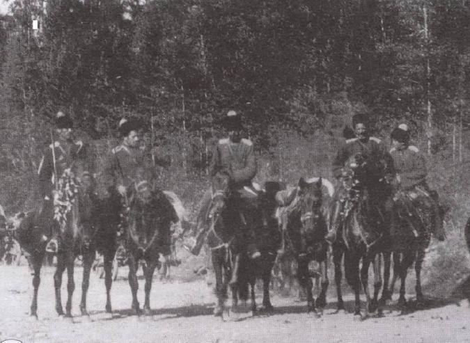 Казачий разъезд летом 1919 г.